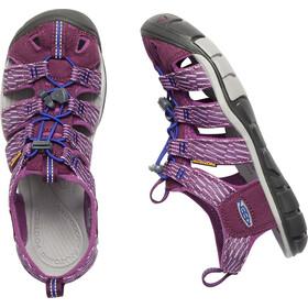 Keen W's Clearwater CNX Sandals Grape Wine/Grape Kiss